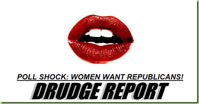 Drudge women want republicans