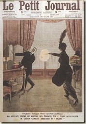 Henriette Caillaux exécute le directeur du Figaro en 1914