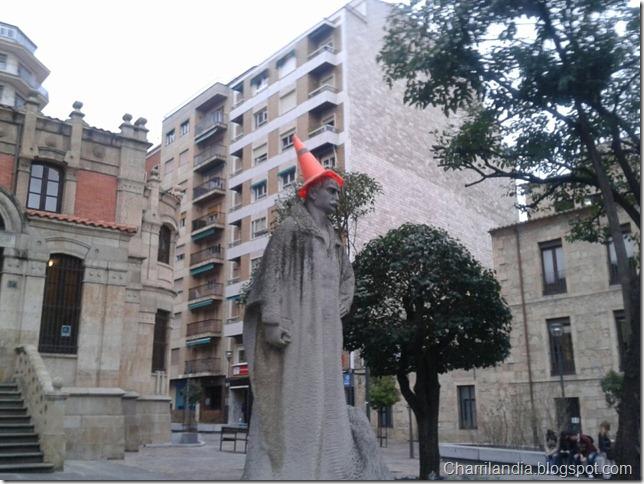 Gabriel y Galán cono fiesta Salamanca