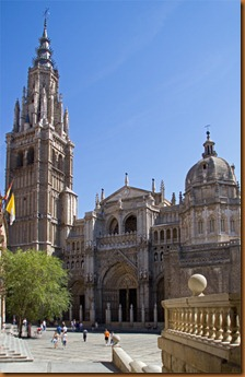 Toledo, cathedral and square