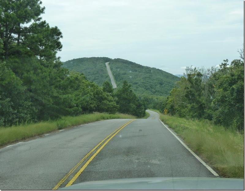 Talimena Scenic Drive AR+OK