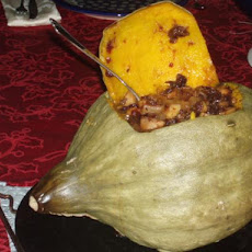 Baked Stuffed Pumpkin