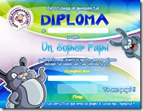 diploma papa color
