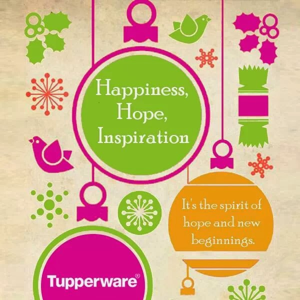 Celebrate this Christmas with Tupperware for long lasting gifts..!! :-)