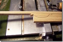 cortando la moldura