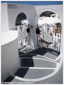 Архитектура Санторини