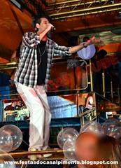 Henrico abrindo seu show na Las Vegas