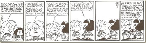Mafalda...CarreradePresidente