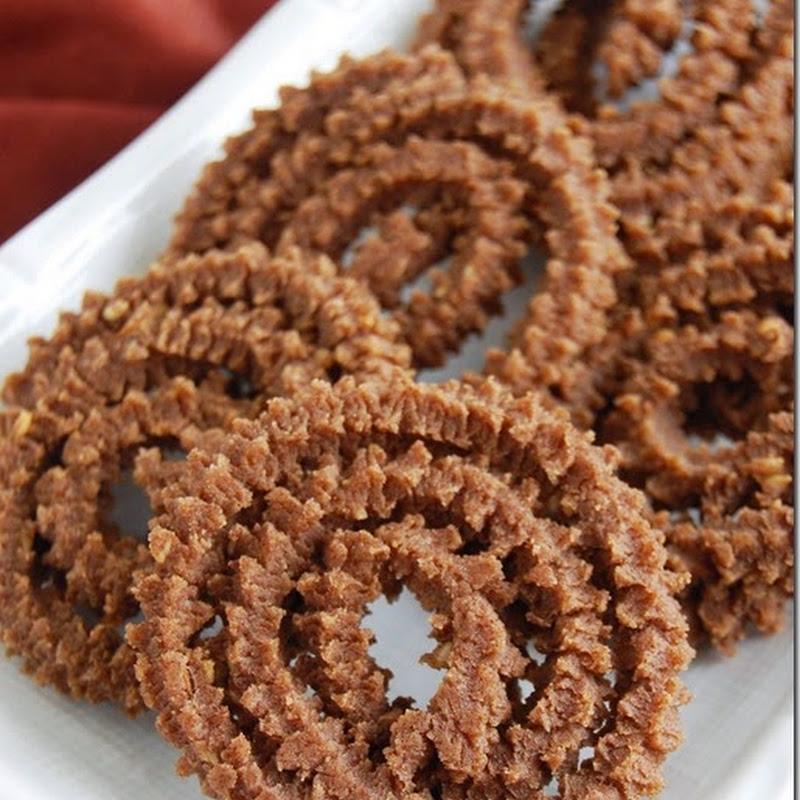 Ragi murukku–Diwali snacks