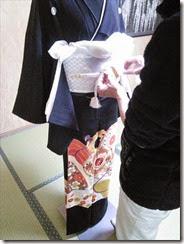 略礼装着から留袖の他装着付け (3)