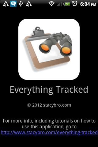 Everything Tracked