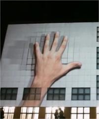 La más impresionante animación en proyección