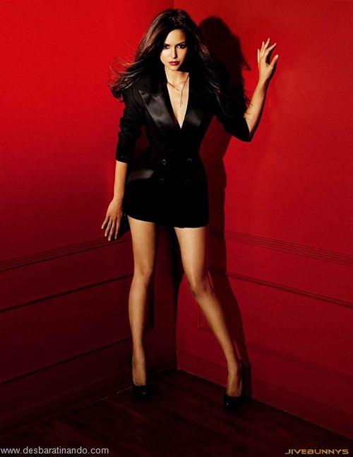 nina dobrev linda sensua sexy sedutora fotos Vampire Diaries desbaratinando (59)