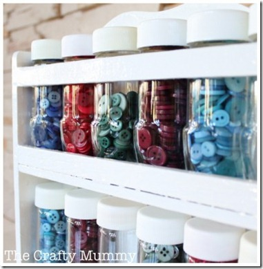 button-jars by the Crafty Mummy