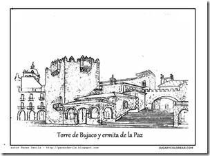 Torre de Bujaco y ermita de la Paz 1