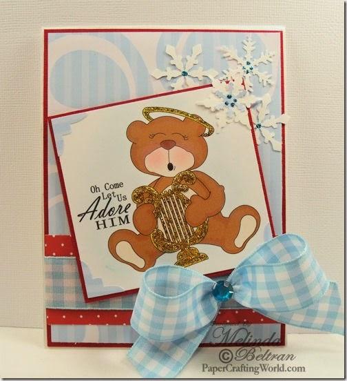 bear w harp card-500