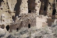 Talus House in Bandelier National Monument.