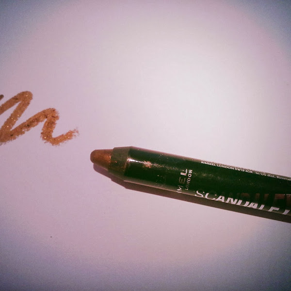 First beauty post... Rimmel Scandaleyes Crayon