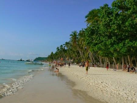Pledoarie pentru Filipine: Plaja alba din Boracay