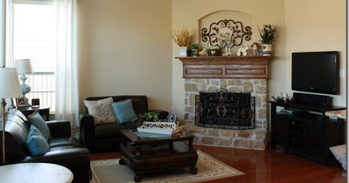 Urban farmhouse living room redo - How to redo a living room under 100 ...
