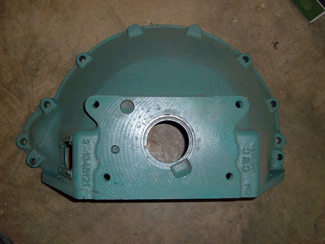 Stock 53-56 264-322 bell housing. Can be modified for other transmissions. 225.00