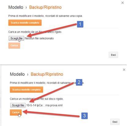 caricare-modello-blogger