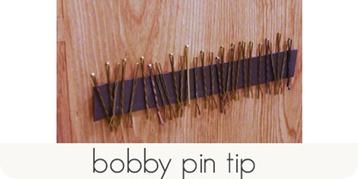 bobby pin tip