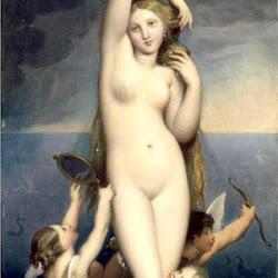 Ingres, Venus Anadyomene 1848