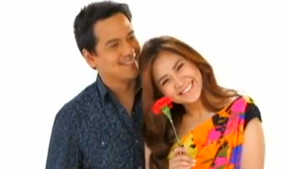 John Lloyd Cruz and Sarah Geronimo in It Takes A Man And A Woman music video