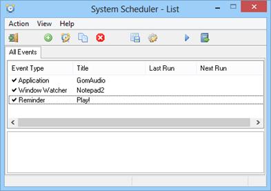 Free System Scheduler