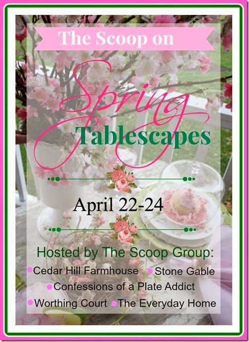 The Scoop Spring Tablescape Tour button large
