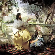 Christ with Mary and Martha Henryk Semiradsky, 1886