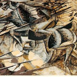 07.- Umberto Boccioni. Carga de lanceros