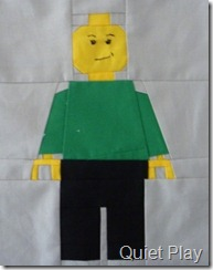 Green minifig