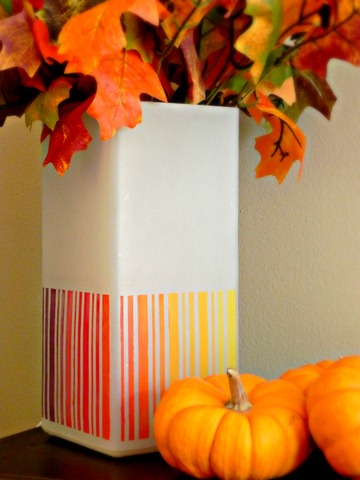 ombre lamp close