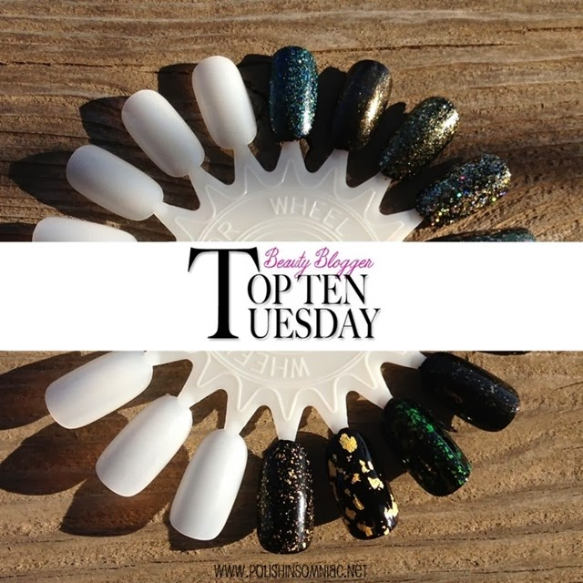 polish insomniac's Top Ten Gold Glitters