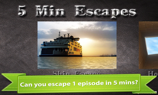 5 Minutes Escapes For PC