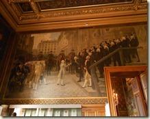 Jean-Paul Laurens - Bailly reçoit Louis XVI à l'Hotel de ville de Paris