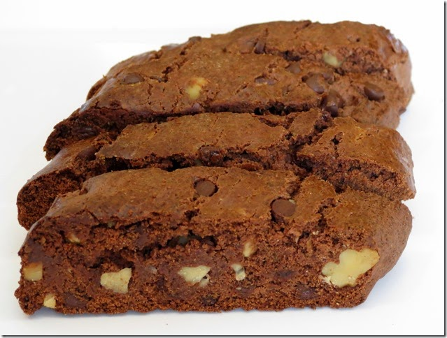 Brownie Biscotti (from Grumpy's Honeybunch)