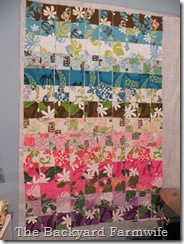 Hawaii quilt - The Backyard Farmwife