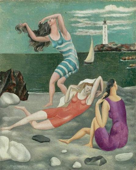 Pablo Picasso, Les baigneuses