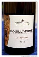 Joseph-Mellot-Pouilly-Fumé-Le-Troncsec-2012