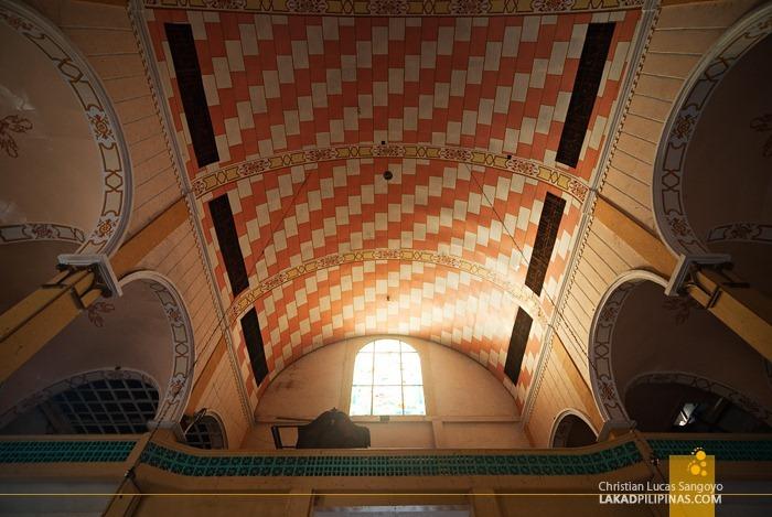 Afternoon Light Filtering Through the Choirloft of St. James Church in Dapitan City