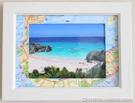 DIYNewlyweds-Map-Photo-Frame-3b