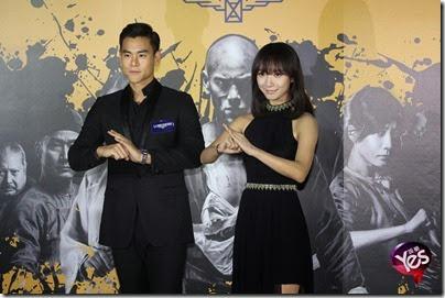 2014.11.26 Eddie Peng during Rise of the Legend - 彭于晏 黃飛鴻之英雄有夢 台北  11