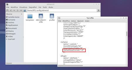 Lubuntu 14.04 - Abiword - Configurazione