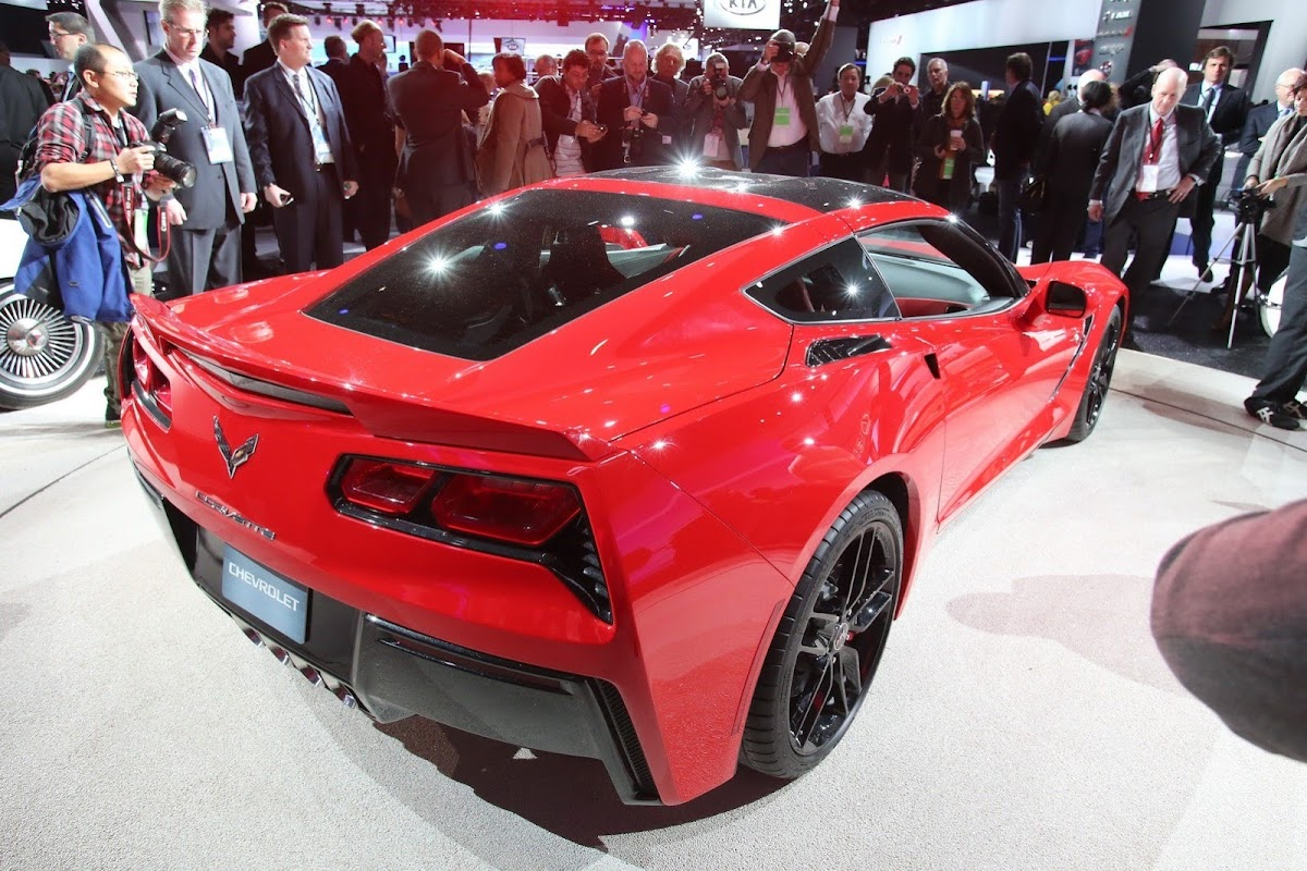 Corvette stingray c7 1