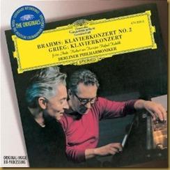 Brahms concierto piano 2 Karajan Anda