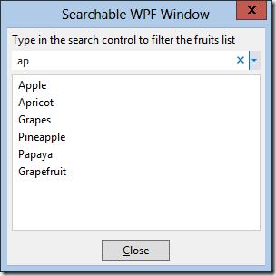 SearchControlWPF