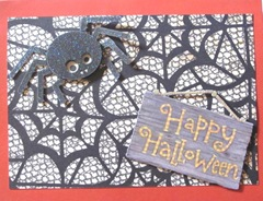 2011 Halloween outside of popup card
